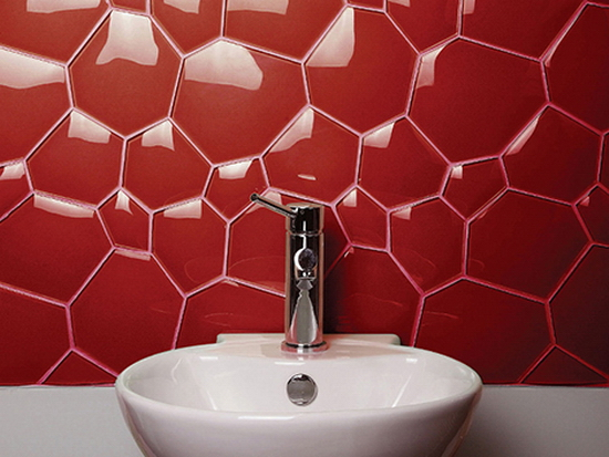 bathroom glass tile backsplash 10+ Great Bathroom Designs and Fixtures