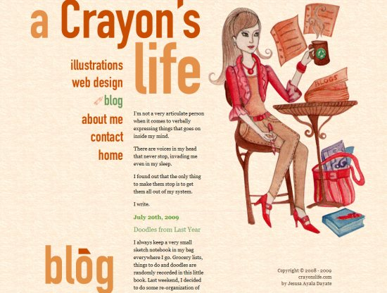crayons Graphic design – part 3