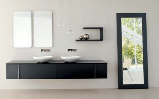 modern italian bathroom vanity design