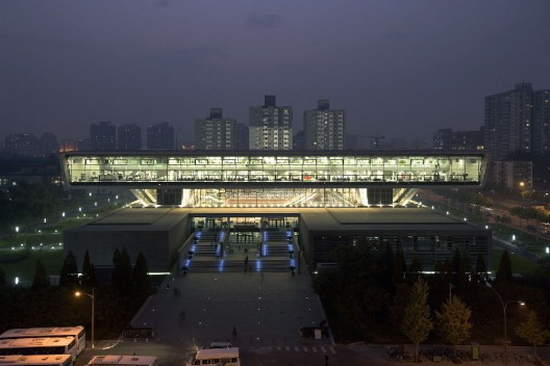 new national library beijing night 528x352 10+ Architectural Concepts