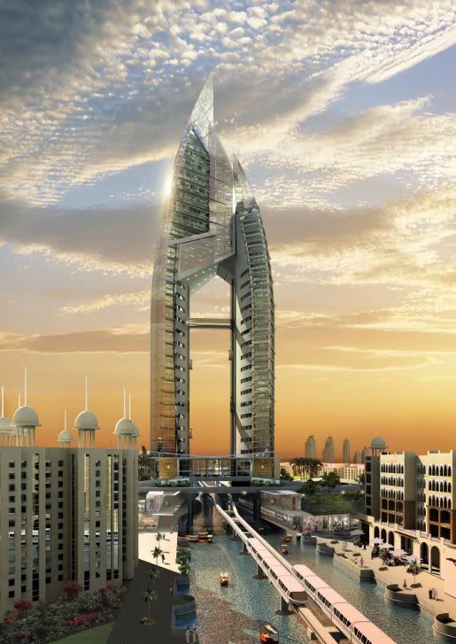 trump dubai Architecture   Proposal