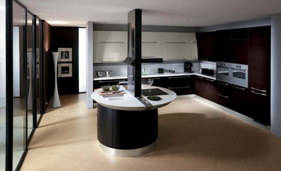 Kitchen Islands Kitchen Color Trends Abound in Flux by Scavolini