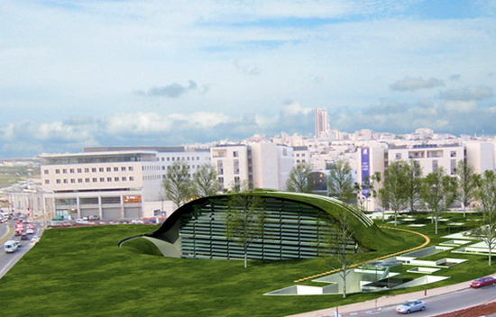 greenglobe GREEN GLOBE: Plans for Israel's New Eco Hub Revealed
