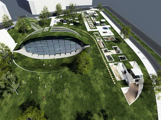 greenglobe4 GREEN GLOBE: Plans for Israel's New Eco Hub Revealed