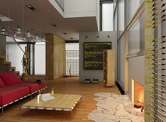 living room spaces ideas Eclectic
