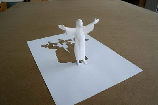 resurrectionweb Simply Amazing A4 papercut   Peter Callesen