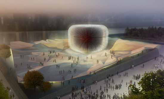 ukpavilionshanghaiexpo heatherwick British Pavillion for Shanghai 2010 Expo