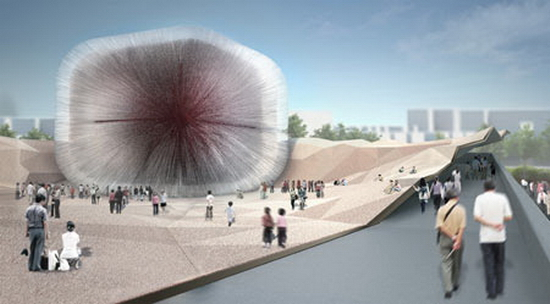 ukpavilionshanghaiexpo heatherwick2 British Pavillion for Shanghai 2010 Expo