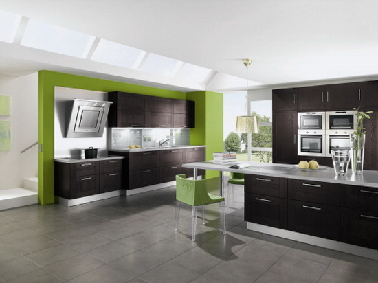 ALNOSQUARE 1100 kitchen pantry cabinets Contemporary Kitchen Designs from Alno