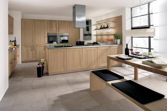 ALNOSQUARE oak cabinets Contemporary Kitchen Designs from Alno