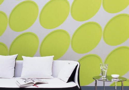 colorful wall decor
