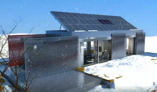 eco froendly solar powered homes