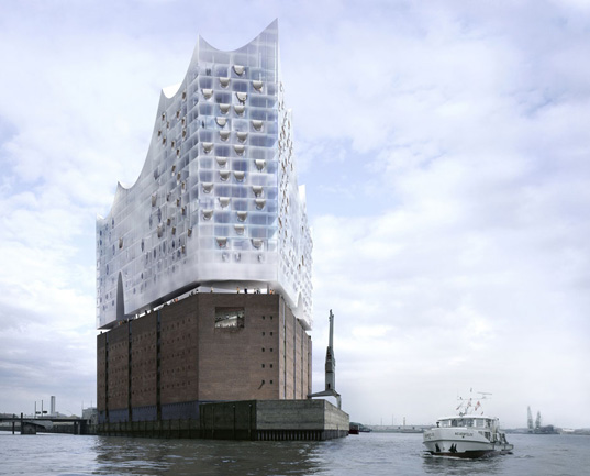 hamburg concert  Herzog + de Meuron's Hamburg Philharmonic Concert Hall Breaks Ground