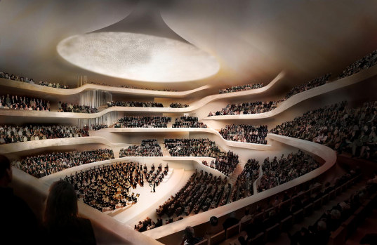 hamburg elbphilharmonie by herzog de mueron 4  Herzog + de Meuron's Hamburg Philharmonic Concert Hall Breaks Ground
