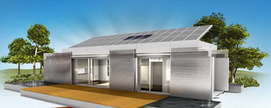 lumenhaus self powered homes solar power Lumenhaus Concept: The Solar Powered House of The Future   by Virginia Tech