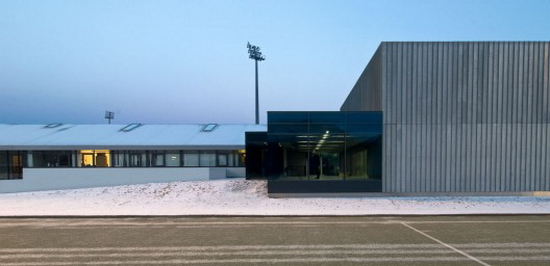Armann Sports Club PK Arkitektar   Armann Sports Club