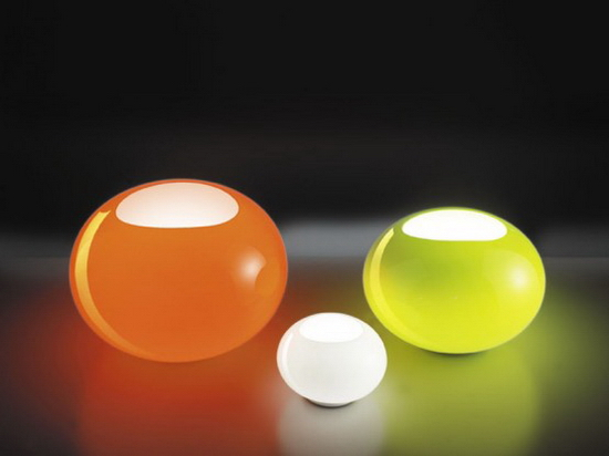 Awesome Colorful Glass Lamps Lucente