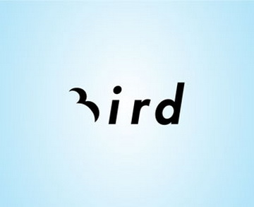 Bird 45+ Most Simple and Clear LOGOs