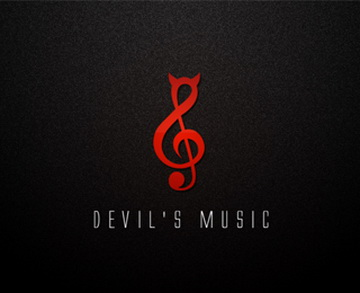 Devils Music 45+ Most Simple and Clear LOGOs