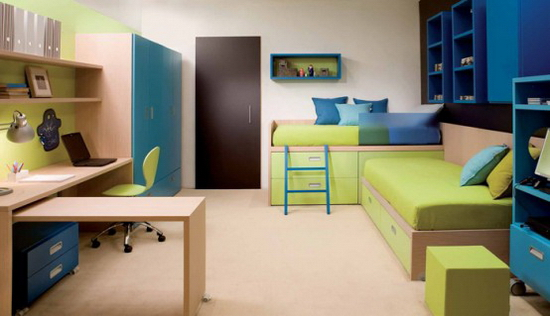Ergonomic-and-Awesome-Bedroom-Ideas-for-Two-Children-by-Dearkids-11