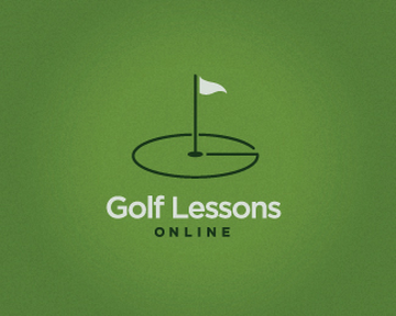 Golf Lessons 45+ Most Simple and Clear LOGOs