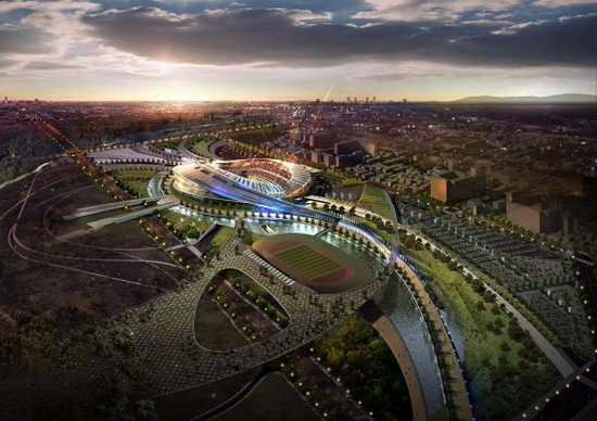 IncheonStaduim P Populous Design   2014 Incheon Asian Games Stadium