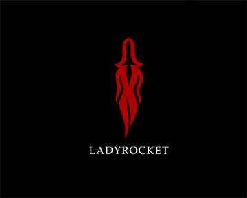 LadyRocket 45+ Most Simple and Clear LOGOs