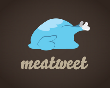 Meatweet 45+ Most Simple and Clear LOGOs