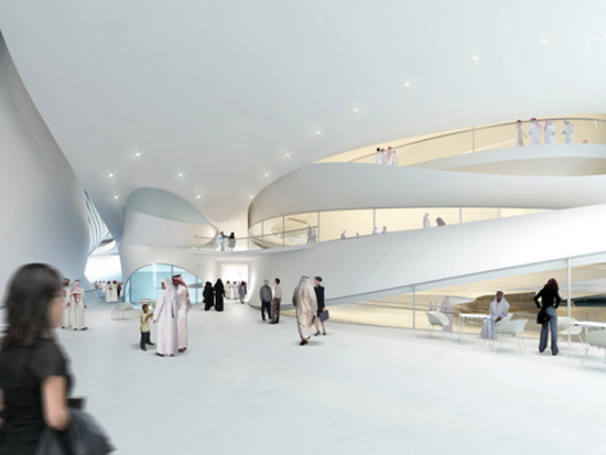 Middle East Art Museum United Arab Emirates Futuristic Building Plans : Modern Art Museum in Dubai UAE