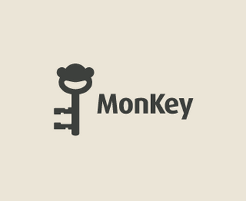 MonKey 45+ Most Simple and Clear LOGOs