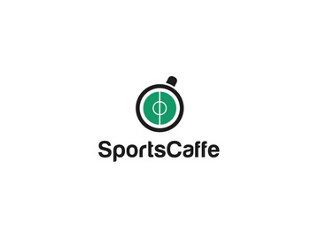 SportsCaffe 45+ Most Simple and Clear LOGOs
