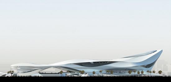UN Studio Dubai Middle East Modern Art Museum Futuristic Building Plans : Modern Art Museum in Dubai UAE