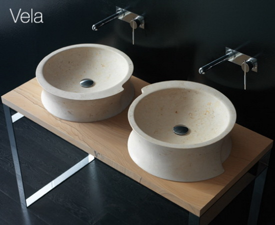Vela Bandini   Vanity Stands and Modern Sinks