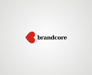 brandcore 45+ Most Simple and Clear LOGOs