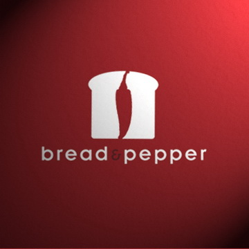 bread and pepper 45+ Most Simple and Clear LOGOs