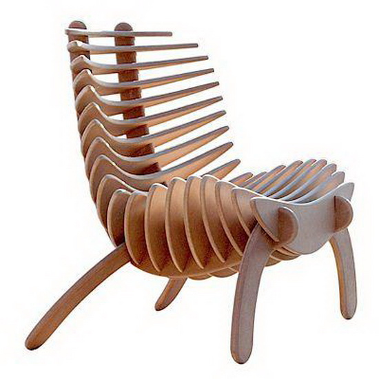 chairs fishbone Fish Bone SK Chair by Nicolas Marzouanlian
