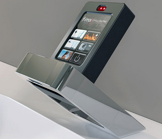 fima touch screen faucet 1 Touch Screen Faucet by Fima