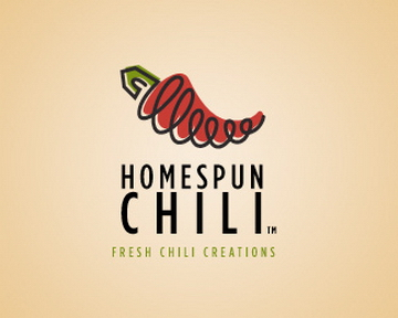 homespun chili 35+ Astonishing and Breathtaking LoGo Designs for your Inspiration