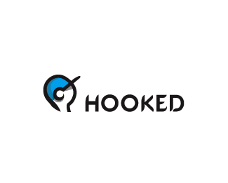 hooked 45+ Most Simple and Clear LOGOs