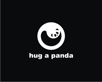 hug a panda 45+ Most Simple and Clear LOGOs