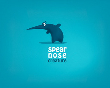 spear nose 35+ Astonishing and Breathtaking LoGo Designs for your Inspiration