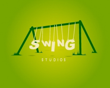 swing 35+ Astonishing and Breathtaking LoGo Designs for your Inspiration