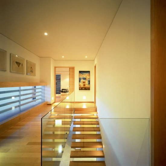 two courtyards house and modern interior 4