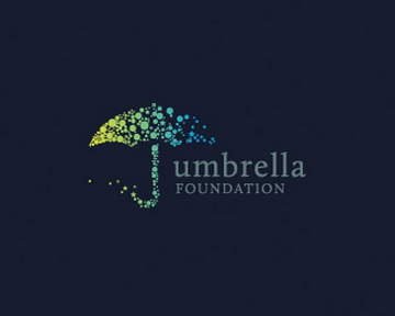umbrella foundation 35+ Astonishing and Breathtaking LoGo Designs for your Inspiration