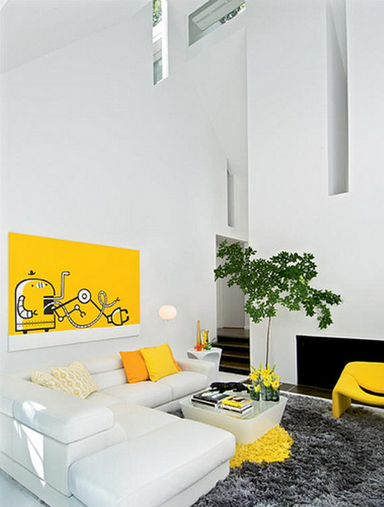 was spaces apt zero jacobsen living room rect Improving Upon Perfection: Apartment Zero Updates a Jacobsen Classic