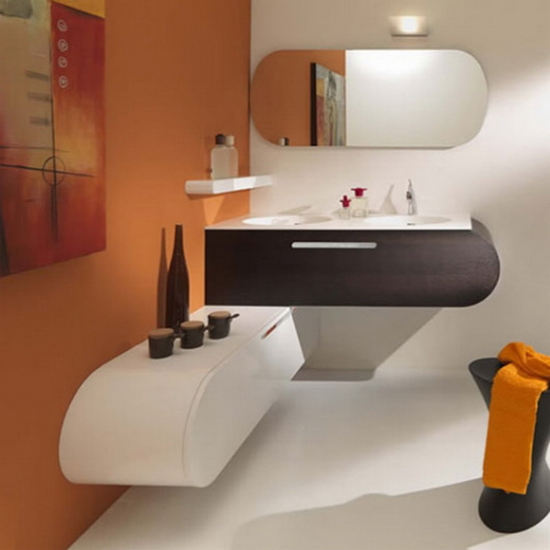 bathroom design Bathroom Furnishings with Flair | Lasa Idea