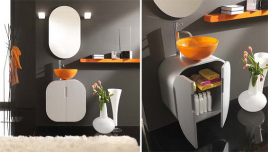 furniture for bathroom Bathroom Furnishings with Flair | Lasa Idea