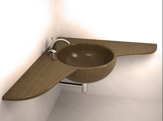 modern wood wash basins and sinks uwd Best Wood Bath Tubs, Wash Basins, and Showers by UWD