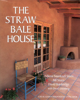 strawbale house Book Review: The Straw Bale House
