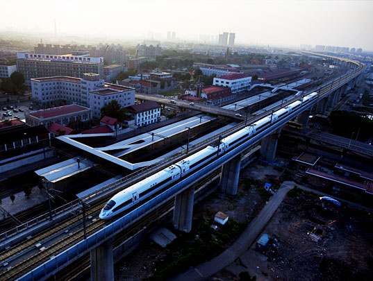 chinatrain lead 01 The World's Fastest High Speed Train born in China